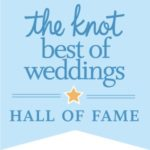 Winner of The Knot's Best of Weddings Hall Of Fame