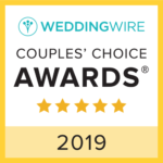Winner of WeddingWire's Couples' Choice Awards 2019